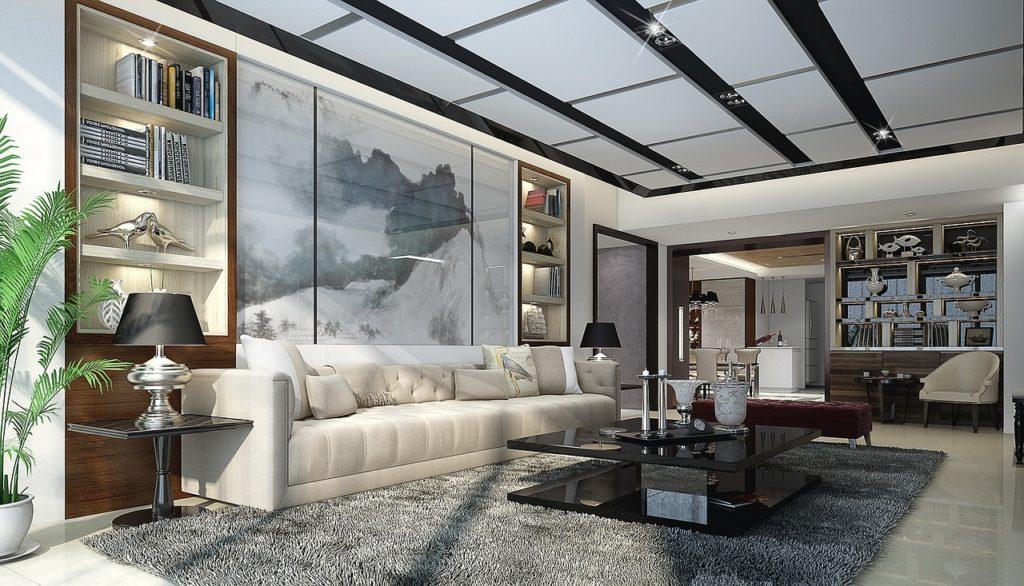 home, interior design, 3d