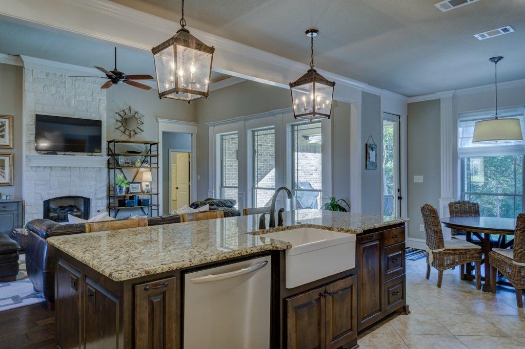kitchen, real estate, interior design